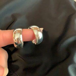 Sterling silver Clip On Earrings.